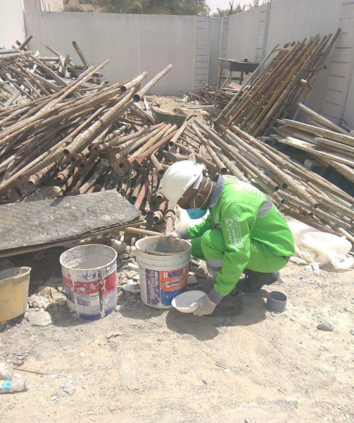 """""""تدوير"""" تواصل جهودها لمكافحة الآفات الناقلة للأمراض بالمواقع الإنشائية بإمارة أبوظبي"""