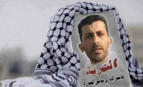 الأسير سامي جنازرة يواصل إضرابه لليوم الـ 21 رفضاً لاعتقاله الإداري