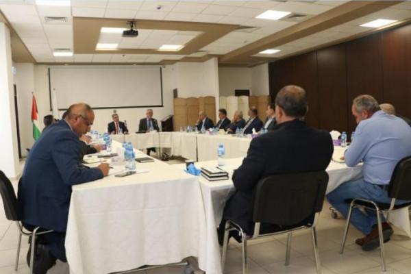 وزير الحكم المحلي: الهيئات المحلية شريك للقيادة في مواجهة مخططات الاحتلال
