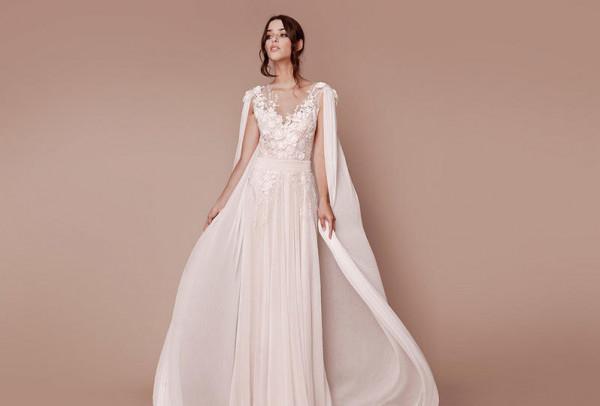 موديلات فساتين زفاف شيفون لعروس 2020