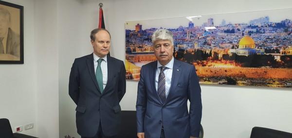 مجدلاني يدعو فرنسا لقيادة حملة بالاتحاد الأوروبي للاعتراف بالدولة الفلسطينية