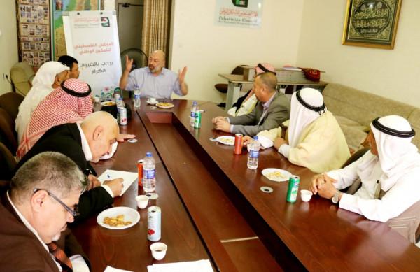 جمعة يفتتح الاجتماع التأسيسي الأول للتيار الوطني العريض
