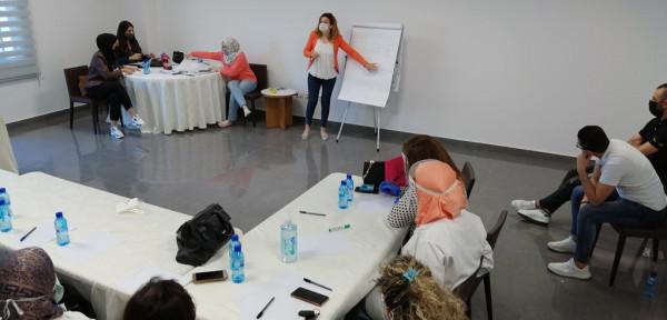 دورة تدريبية حول العنف القائم على النوع الاجتماعي في المواساة