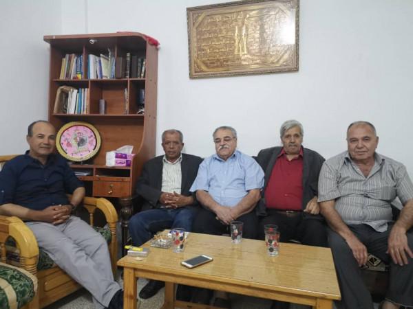 معتوق يجري سلسلة من زيارات لمخيمات شعبنا في حلب وحمص واللاذقية