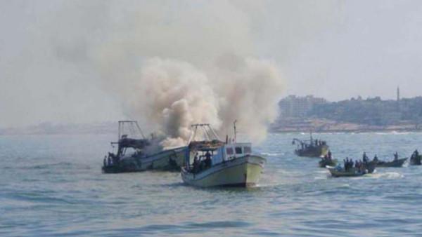 شاهد: إطلاق نار على الصيادين والمزارعين في قطاع غزة