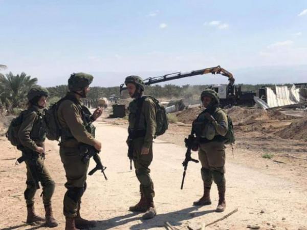 الاحتلال يهدم تجمع عين حجلة البدوي شرق أريحا بشكل كامل