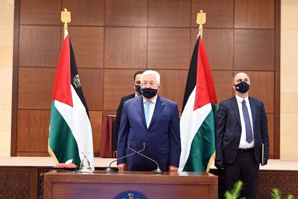 """""""الحركي المركزي"""" بجامعة الأقصى يؤكد التزامه بقرارات القيادة الفلسطينية والرئيس عباس"""