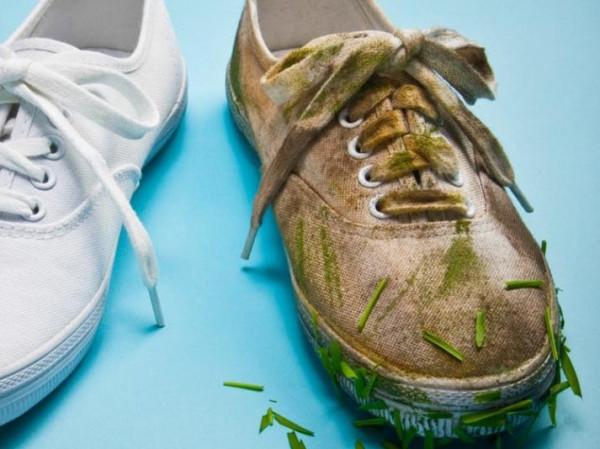 حيلة ذكية لتنظيف الحذاء الرياضي بمكون في كل منزل
