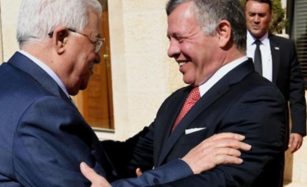 عياش يتلقى رسالة من العاهل الأردني عبدالله الثاني