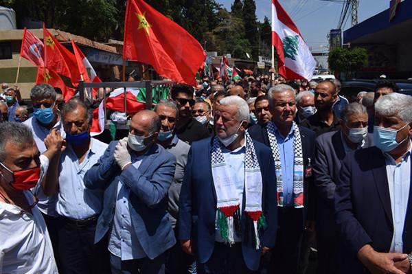 منظمة العمل الشيوعي في لبنان تودع أمينها العام محسن إبراهيم