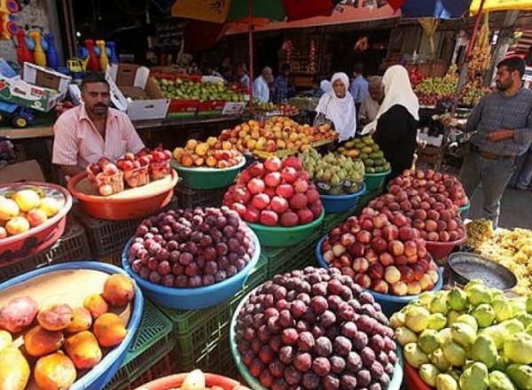 طالع أسعار الخضار والفواكه في أسواق قطاع غزة لليوم السبت