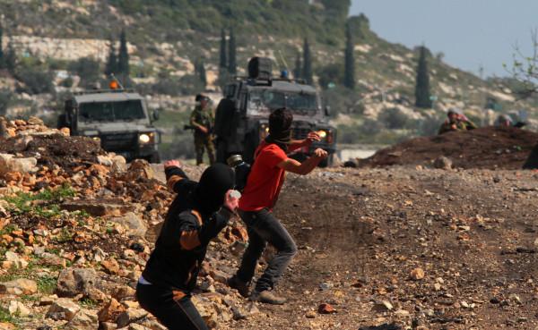 إصابة خمسة مواطنين إثر قمع الاحتلال مسيرة منددة بمخطط الضم بكفر قدوم
