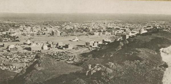 صورة تاريخية للمدينة المنورة عمرها 107 أعوام