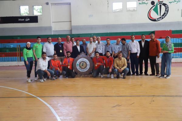 نادي دير البلح بطلاً لدوري جوال لكرة اليد للموسم 2020- 2021