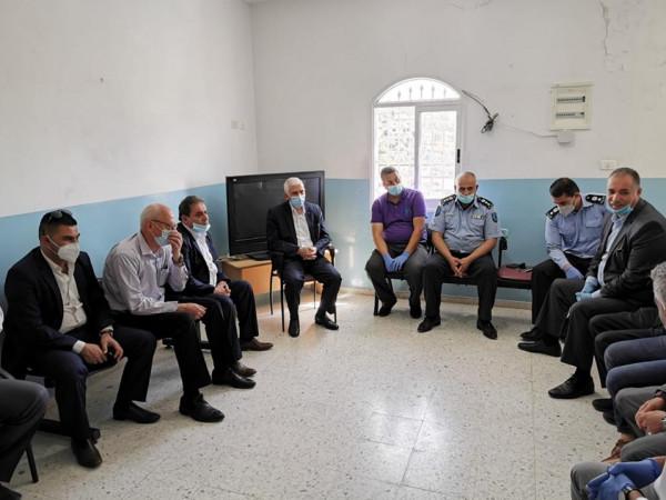 حميد يلتقي وفدا من رؤساء الكنائس ورجال الدين في بيت لحم