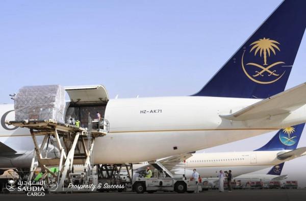 السعودية للشحن: نقل 56 مليون كِمامة طبية للمملكة