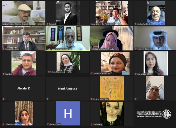 (الفن ينتصر في زمن الكورونا) تطوف حول العالم عبر مؤسسة العويس الافتراضية