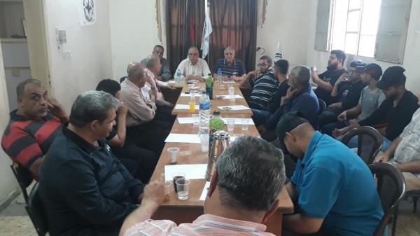 النضال الشعبي تنظم ندوة سياسية حول خطة الضم الإسرائيلية