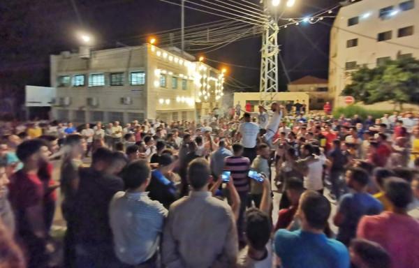 الاحتفالات تعم محافظة طوباس بعد تأهل فريقها لدوري المحترفين