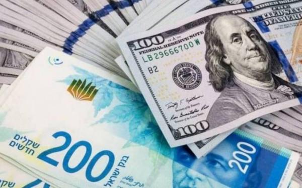 أسعار العملات مقابل الشيكل لليوم الثلاثاء