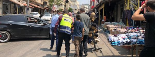 حماية الطفولة بقلقيلية تنظم حملة تفتيشية على عمالة الأطفال في سوق الخضار