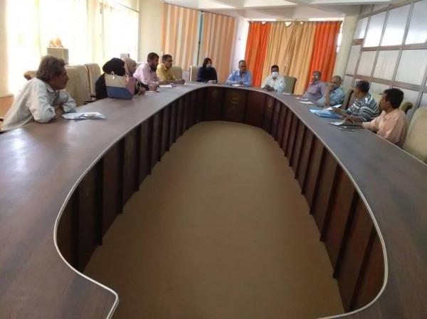 المجلس التعليمي بمكتب التربية عدن يقر عددا من القرارات التربوية والتعليمية والتنظيمية