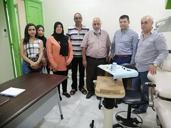 نادي الجليل الفلسطيني يزور جمعية صور الانسان للرعاية الصحية