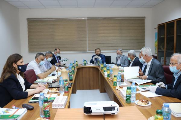 مجلس إدارة مؤسسة المواصفات والمقاييس يعقد اجتماعه الأول للعام 2020