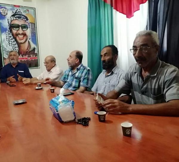 اتحاد نقابات عمال فلسطين يلتقي اللجان الشعبية للمنظمة بعين الحلوة