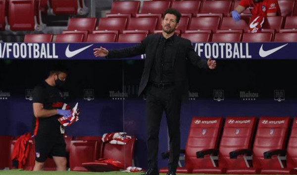 سيميوني: إقصاء ليفربول دفعنا للتألق في الليجا