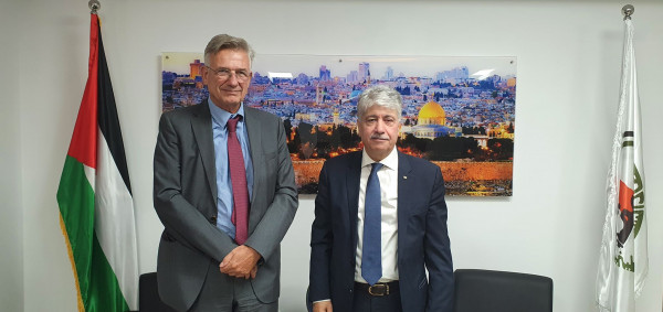 مجدلاني يدعو ألمانيا لبذل الجهود السياسية لاعتراف دول الاتحاد الاوروبي بفلسطين