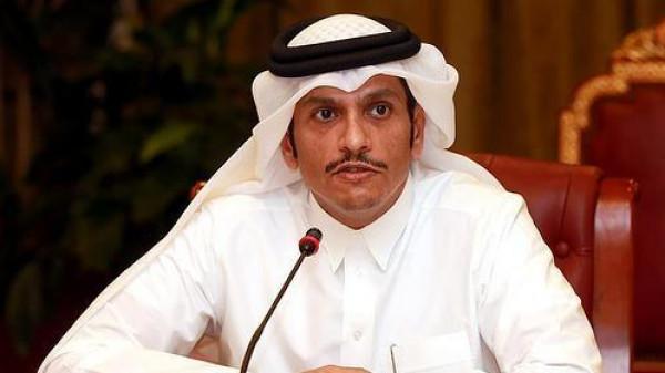 """وزير الخارجية القطري لـ """"هنية"""": مستمرون بتأييدنا لكل المساعي لاستعادة الوحدة الفلسطينية"""