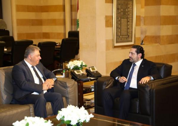 السفير دبور يلتقي رئيس الوزراء اللبناني السابق سعد الحريري