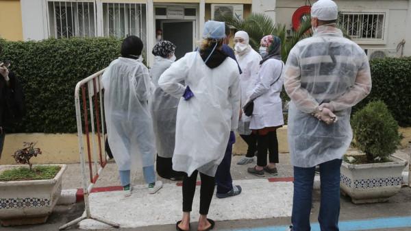 الجزائر تواصل تسجيل أعداد كبيرة بمعدل الإصابات اليومية بفيروس (كورونا)