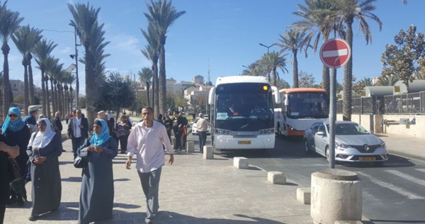 شاهد: انطلاق قوافل الأقصى من الجليل الى القدس