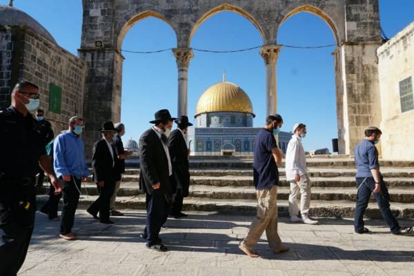 إعلام إسرائيلي: 321 مستوطناً اقتحموا الأقصى هذا الأسبوع