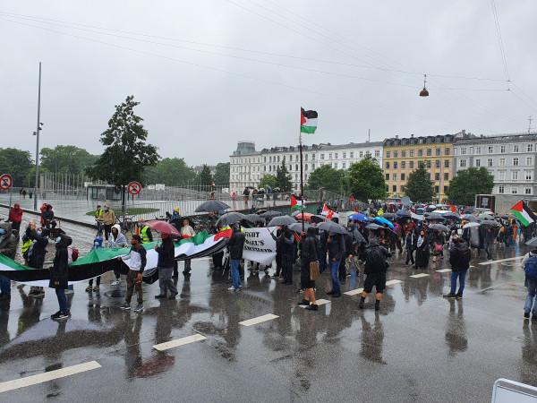 فعالية حاشدة في كوبنهاغن رفضا لخطة الضم الإسرائيلية و(صفقة القرن)