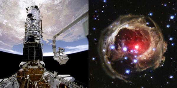 هابل يلتقط أعظم وأغرب صورة في الفضاء