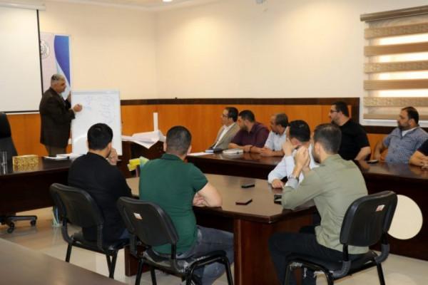 المجلس الاعلى للقضاء يعقد دورة تدريبية بقانون الخدمة المدنية بغزة