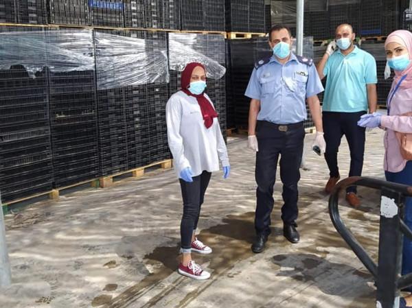 لجنة السلامة العامة بمحافظة أريحا والأغوار تنفذ جولات على المصانع الغذائية
