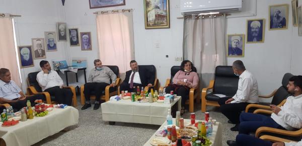 بمبادرة توما -سليمان.. نائب وزير الداخلية يزور مسجد الجزار المهددة مئذنته بالسقوط