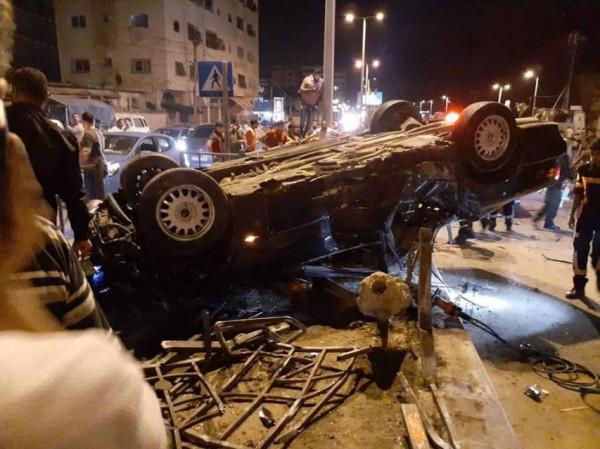 غزة: وفاة مواطن وثلاثة حوادث سير خلال 24 ساعة