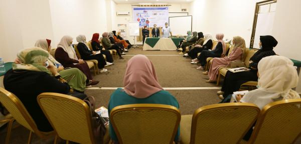 """الاعلام المجتمعي يختتم مخيم تدربي متخصص في """"الأمان الرقمي للنساء الشابات"""""""