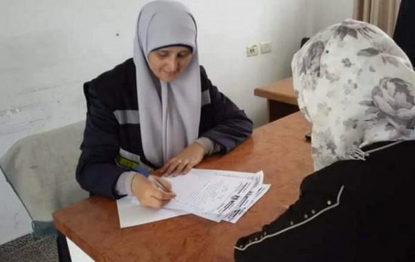 الشرطة النسائية شمال غزة تُنفذ 226 مهمة خلال يونيو