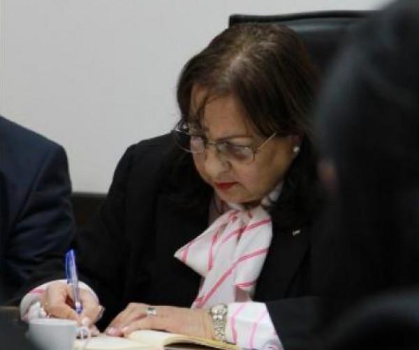الصحة الفلسطينية تكشف حقيقة استقالة الوزيرة مي الكيلة من منصبها