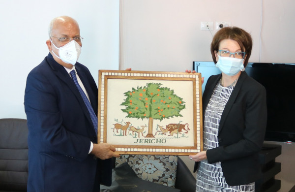 عريقات يشكر فنلندا على مواقفها المبدئية من القضية الفلسطينية