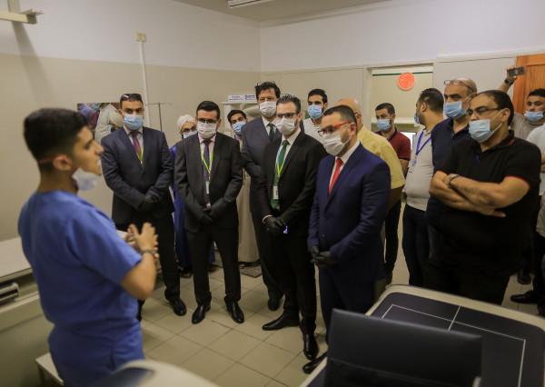 جوال تدعم مجمع الصحابة الطبي بجهاز فحص كثافة العظم  DEXA