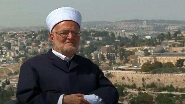 عكرمة صبري يدعو للاهتمام بقضية القدس مع مقاومة مشروع الضم