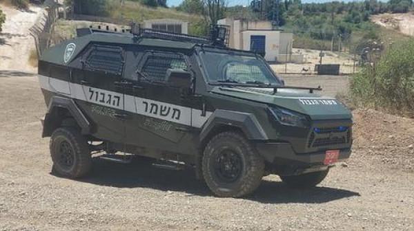 الشرطة الإسرائيلية تختبر مركبات مصفحة من طرازين مختلفيْن