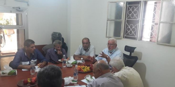 أبو العردات يبحث المستجدات السياسية مع لجنة العلاقات في إقليم لبنان
